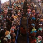 Heavy rush at Sabarimala